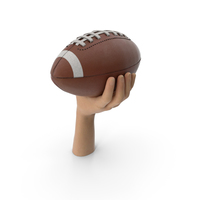 Hand Holding a Football Ball PNG & PSD Images