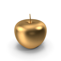 Golden Apple PNG & PSD Images