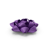 Ribbon Bow Gift Purple PNG & PSD Images