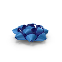 Ribbon Bow Gift Blue PNG & PSD Images