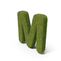 Grass Capital Letter M PNG & PSD Images