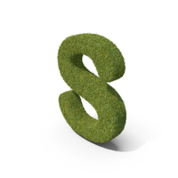 Grass Capital Letter S PNG & PSD Images