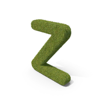 Grass Capital Letter Z PNG & PSD Images