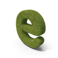 Grass Small Letter E PNG & PSD Images