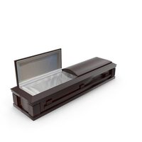 High Def Classic Coffin Wood All PNG & PSD Images