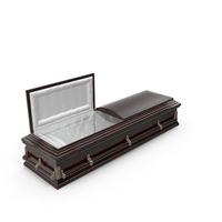 High Def Classic Coffin Wood Victorian PNG & PSD Images
