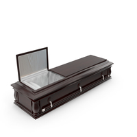 High Def Classic Coffin Wood Western PNG & PSD Images