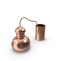 Copper Alembic PNG & PSD Images