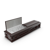 High Def Wood Coffin 03 PNG & PSD Images