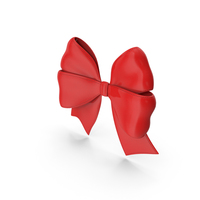 Ribbon Bow Gift Decorative Red PNG & PSD Images