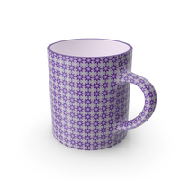 Printed Violet Cup PNG & PSD Images