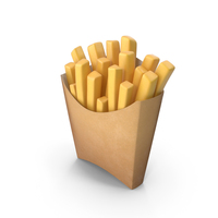 Cartoon French fries PNG & PSD Images