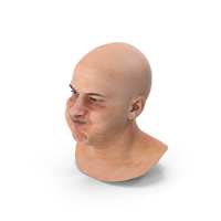 Marcus Human Head Cheek Blow PNG & PSD Images