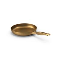 Golden Frying Pan PNG & PSD Images
