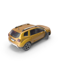 Dacia Duster 2018 PNG & PSD Images