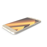 Samsung Galaxy A7 2017 Gold Sand PNG & PSD Images