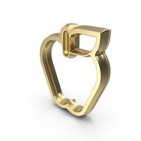 Golden Apple Symbol PNG & PSD Images