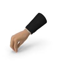 Suit hand Pouring Pose PNG & PSD Images
