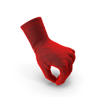 Glove Velvet Pouring Pose PNG & PSD Images