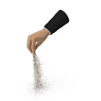 Suit Hand Pouring Mixed Sesame Seeds PNG & PSD Images