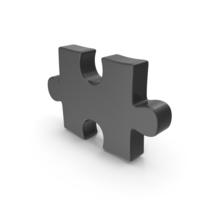 Puzzle Piece Black PNG & PSD Images