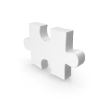 Puzzle Piece White PNG & PSD Images
