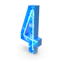 Tech Number 4 PNG & PSD Images