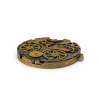Watch Mechanism Brass Old PNG & PSD Images