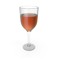 Glass Cup With Cognac PNG & PSD Images