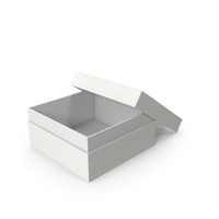Cardboard Box Opened White PNG & PSD Images