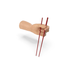 Hand Holding Chop Sticks PNG & PSD Images