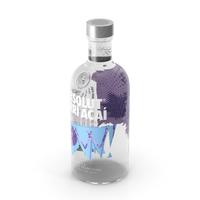 Absolut Berri Acai Vodka Bottle PNG & PSD Images