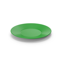Ceramic Plate Green PNG & PSD Images