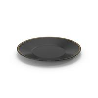 Ceramic Plate Black PNG & PSD Images