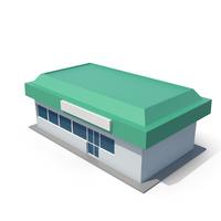 Generic Cartoony Station Shop PNG & PSD Images