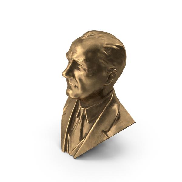 Bust Ataturk PNG & PSD Images