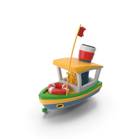 Toy Ship PNG & PSD Images