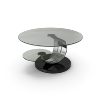 Round Glass Coffee Table PNG & PSD Images