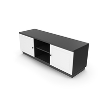 TV Stand Black White PNG & PSD Images