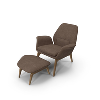 Lounge Chair Oak PNG & PSD Images