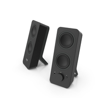 Logitech Z207 Stereo Computer Speakers PNG & PSD Images