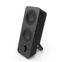 Logitech Z207 Stereo Computer Speakers Right PNG & PSD Images