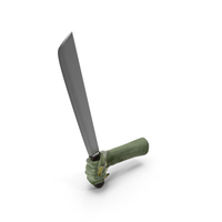 Creature Hand Holding a Machete PNG & PSD Images