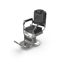 Stylist Chair Black PNG & PSD Images