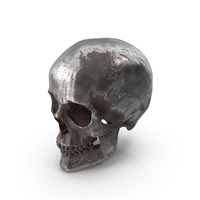 Human Skull Rusted PNG & PSD Images