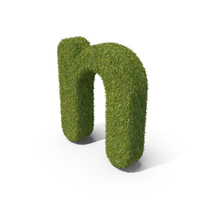 Grass Small Letter N PNG & PSD Images