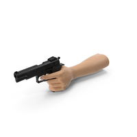 Hand Pointing a Gun PNG & PSD Images