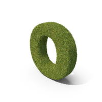 Grass Small Letter O PNG & PSD Images
