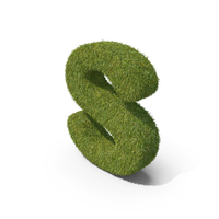 Grass Small Letter S PNG & PSD Images