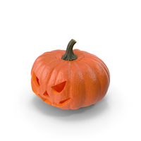 Scary Halloween Pumpkin PNG & PSD Images